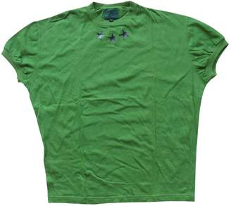 Green Cotton Gaultier Junior T-shirts