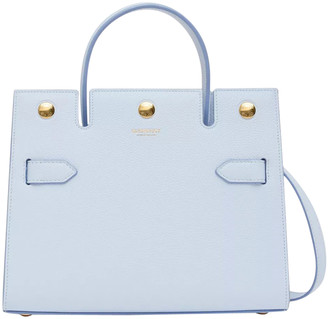 Burberry Light Blue Title Bag