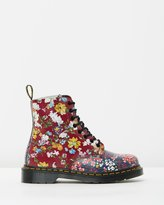 Dr. Martens Pascal Floral Clash 8-Eye Boots