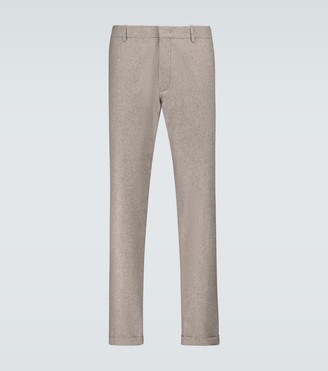 Caruso Regular-fit wool pants