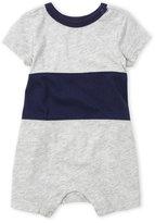 Splendid Newborn/Infant Boys) Color Block Knit Romper