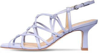 AEYDĒ 65mm Celia Leather Sandals