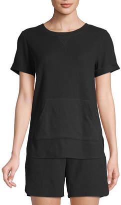 ST. JOHN'S BAY SJB ACTIVE Active Tall-Womens Crew Neck Short Sleeve T-Shirt
