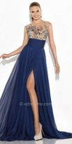 Tarik Ediz Earth Evening Dress