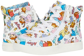BILLY Footwear Kids Classic Lace High Arthur Friends (Toddler) (All Over Print) Kid's Shoes