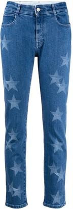 Stella McCartney Star-Print Slim-Fit Jeans