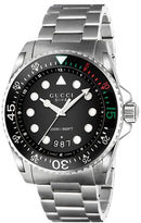 Gucci Dive Stainless Steel Tri-Link Bracelet Watch