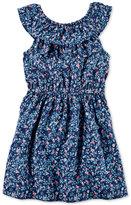 Carter's Ruffled Floral-Print Dress, Toddler Girls (2T-4T)