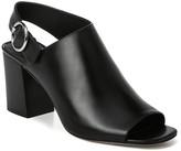 Via Spiga Elma Leather Block Heel Sandal