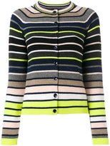 Paul Smith striped knit cardigan - women - Lambs Wool - M