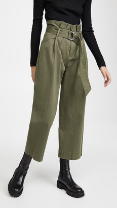 Marissa Webb Dixon Paper Bag Pants