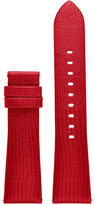 Michael Kors Access Women's Bradshaw Red Lizard Embossed Leather Smartwatch Strap MKT9006
