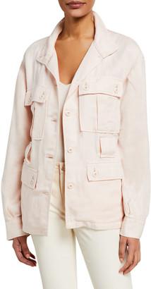 Joie Sirena Button-Front Utility Jacket
