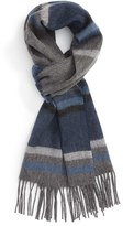 Nordstrom Men's Multi Stripe Wool Scarf