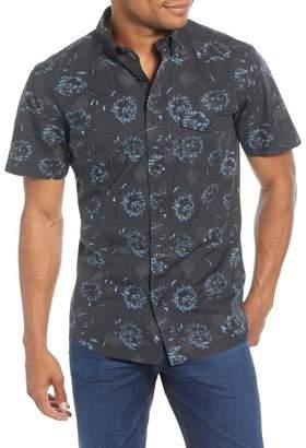 1901 Trim Fit Floral Short Sleeve Button-Down Shirt