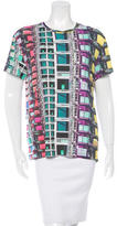 Mary Katrantzou Trompe L'oeil Print T-Shirt