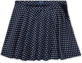 Polo Ralph Lauren Ralph Lauren Polka-Dot-Print Skirt, Big Girls