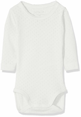 Name It Baby Girls' Nbfvitte Ls Body Noos Footies