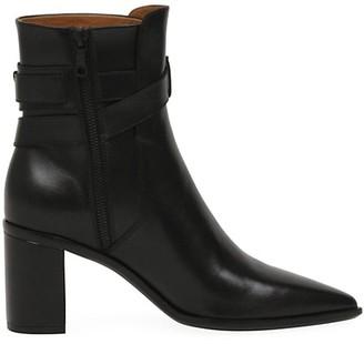 Rag & Bone Brynn Buckle Leather Boots