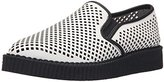 T.U.K. Women's Perforated Pointed Toe Creeper Slip-on Loafer