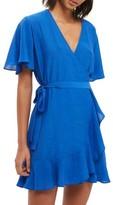 Topshop Women's Ruffle Wrap Dress