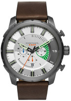 Diesel Men's Stronghold Chronograph Leather Watch, 51mm
