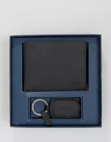Armani Jeans Wallet & Keyring Gift Set