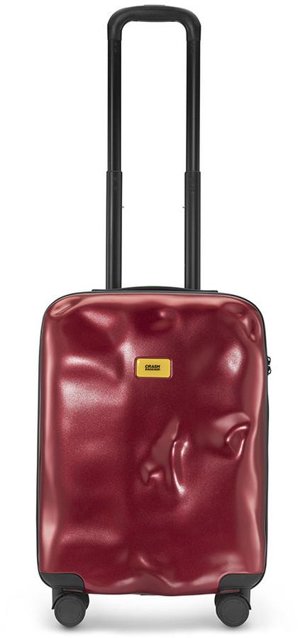 CRASH BAGGAGE Icon Suitcase - Metal Red - Cabin