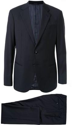 Giorgio Armani Pinstripe Two-Piece Suit