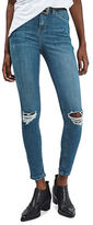Topshop MOTO Ripped Jamie Skinny Jeans 30-Inch Leg