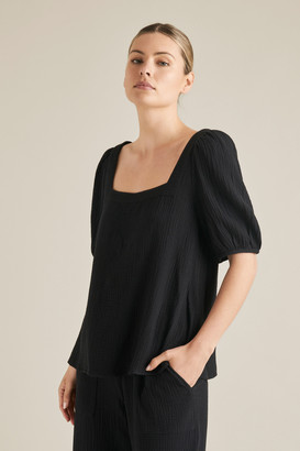 Seed Heritage Cheesecloth Blouse