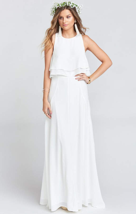 73e7f9f648 Bridal Maxi Skirt - ShopStyle