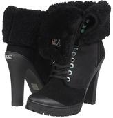 Philip Simon Kevoik Heel (Black Shearling) - Footwear
