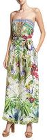 Camilla Embellished Wide-Leg Strapless Jumpsuit, Exotic Hypnotic