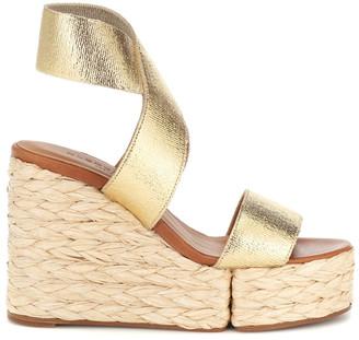 Clergerie Aurore Wedge Sandals