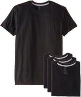 Hanes Men's 4-Pack Ultimate Slim-Fit Crew T-Shirt