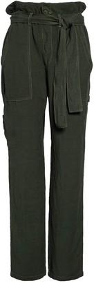 NSF Josephine Paperbag Waist Linen Blend Pants
