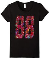 Official 88 Heroes T-shirt Design Red
