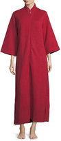 Natori Akimo Quilted Zip-Front Caftan