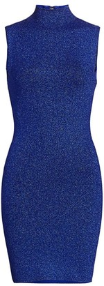 Alice + Olivia Rissy Metallic Knit Bodycon Dress