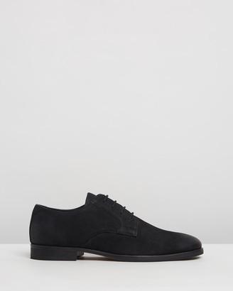 Double Oak Mills Beamon Leather Derby Shoes