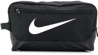 Nike contrast logo clutch