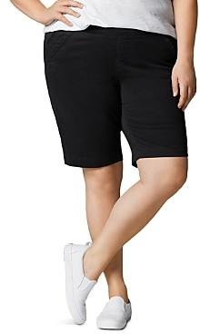 Jag Jeans Plus Gracie Bermuda Shorts