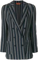 Missoni striped blazer - women - Rayon/Wool - 42