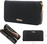 Aitbags Women Wallets Attrahent Synthetic Leather Credit Card Wallet With Wrist Strap