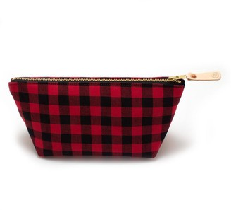 General Knot & Co Buffalo Check Travel Clutch