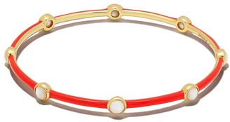 Ippolita 18kt yellow gold Lollipop Carnevale 8-Stone bangle