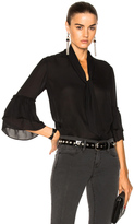 L'Agence Desa Blouse in Black.