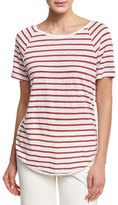 Frame Dolphin Linen T-Shirt