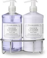 Williams-Sonoma Williams Sonoma French Lavender Soap & Lotion, Classic 3-Piece Set